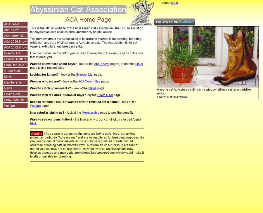 Abyssinian Dog Association